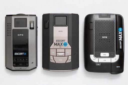 escort IX MAX 360 and MAX 360c